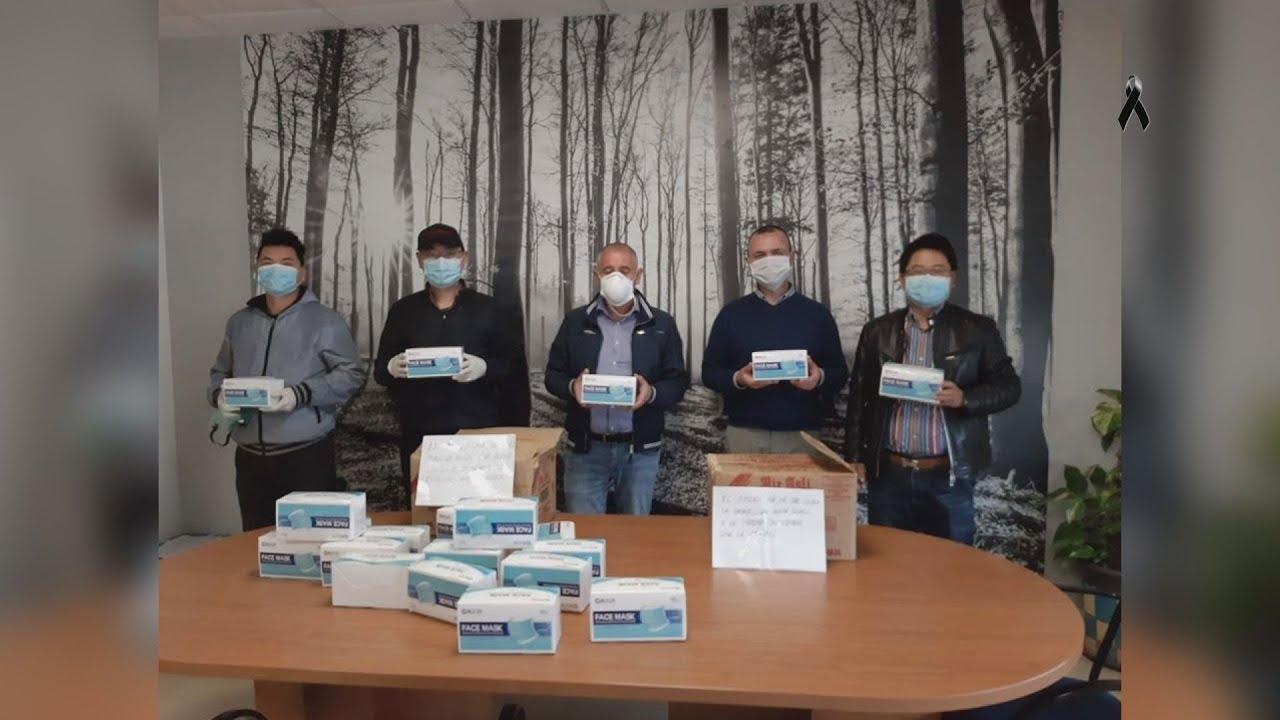 Nueva donación particular de 1.000 mascarillas