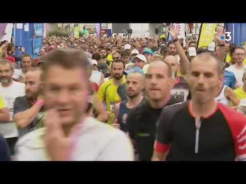 Running Loire Valley 2019 : le départ du marathon