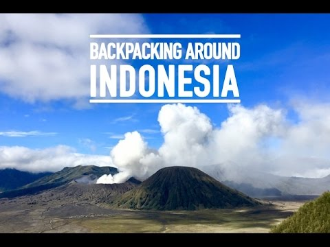 Backpacking Around Indonesia (Java, Bali, Gili, Lombok - South East Asia) | GoPro