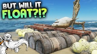 "Stranded Deep Gameplay - ""BUT WILL IT FLOAT?!?""  - Let"