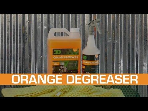 3D Orange Degreaser Citrus – universaalne puhastusvahend