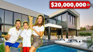 OFFICIAL REVEAL of our New VACATION HOME! (Full MANSION Tour) | The Royalty Family