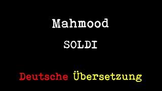 Mahmood   Soldi (deutsche Übersetzung)