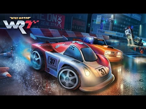 Mini Motor Racing WRT (by The Binary Mill) - iOS / Android - HD (Sneak Peek) Gameplay Trailer