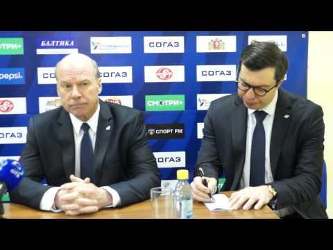 Пресс-конференция: Майк Кинэн, Анатолий Емелин