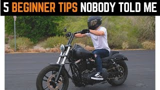 Five Beginner Tips Nobody Told Me | How To Get More Comfortable Riding Motorcycles