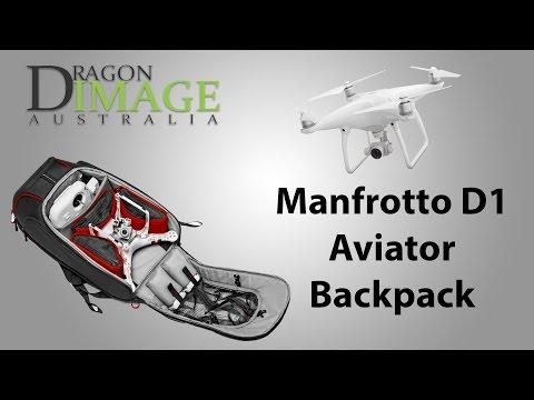 Manfrotto D1 Aviator Backpack For Phantom Drones
