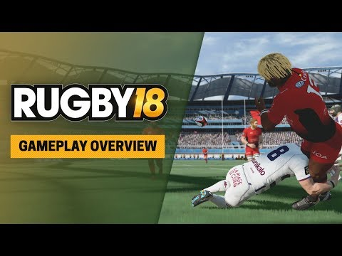 RUGBY 18 XBOX LIVE Key XBOX ONE GLOBAL - video trailer