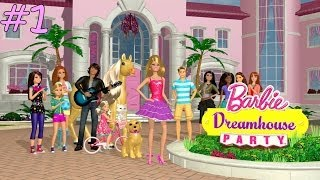 Barbie Dreamhouse Party (Commentary) Part 1: Cupcake Explosion