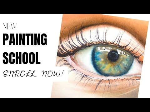 Maria Raczyńska watercolor online painting school (new classes coming in June/SEASCAPES)