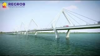 Amaravathi   New Capital of Andhra Pradesh   Iconic Bridge in Amaravathi   Conceptual Video