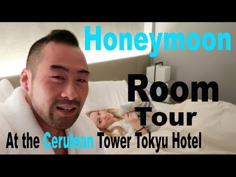 Honeymoon!  Executive Suite Room Tour at the Cerulean Tower Tokyu Hotel