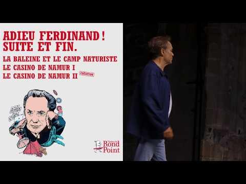 Adieu Ferdinand ! Suite et fin Théâtre du Rond-Point