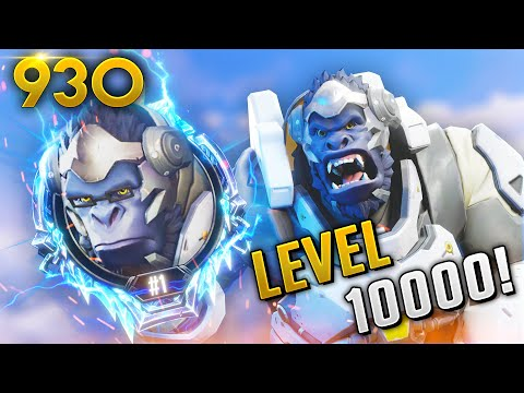 WORLD'S HIGHEST LEVEL PLAYER! 10,000! | Overwatch Daily Moments Ep.930 (Funny and Random Moments)