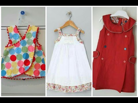 comfortable summer baby frocks easy stitch at home || beauty fashion