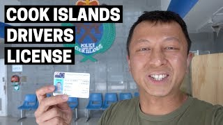 COOK ISLANDS DRIVERS LICENSE | Highlights of Rarotonga, Cook Islands capital