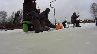 Рыбалка в марте река ухра