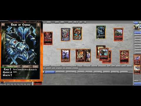 Combat basics for the Rage CCG, including bluffing
