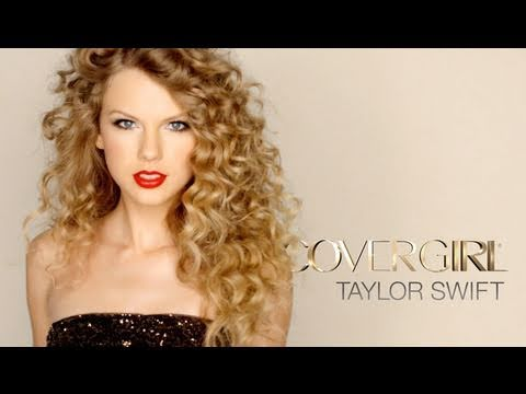 It is a video of Taylor twirling around with make up