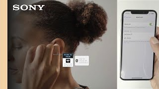 Setup Guide | Sony WF-1000X Wireless Noise-Canceling Headphones