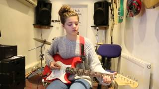 Just Saying, 5 Seconds Of Summer guitar cover by 13 year old Lily