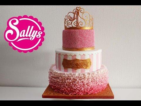 """""""Prinzessin"""" Torte zum 1. Geburtstag / Mädchen / First Birthday Cake Girl / Princess / Sallys Welt"""