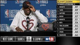 Paskal Siakam postgame reaction   Raptors vs Bucks Game 3   2019 NBA Playoffs
