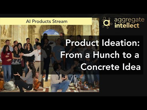 Product Ideation: From a Hunch to a Concrete Idea
