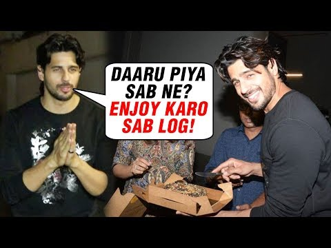 INSIDE VIDEO Sidharth Malhotra Invites Media For D