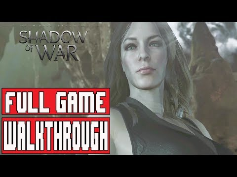 SHADOW OF WAR Gameplay Walkthrough Part 1 FULL GAME - No Commentary