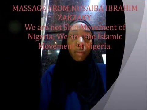 We are not Shi'a Movement in Nigeria; We are the Islamic Movement in Nigeria.