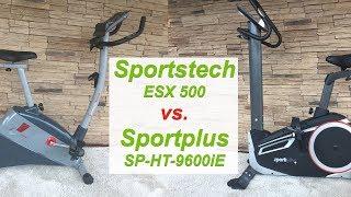 Sportstech ESX500 vs. Sportplus SP-HT9600iE Ergometer Vergleich und Test