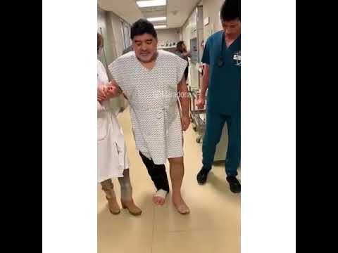 """El gran Diego Maradona volvió a """"caminar como cuando tenía 15 años"""""""