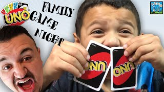 FAMILY GAME NIGHT! WE MADE DANCE RULES! DINGLE HOPPERZ VLOG!