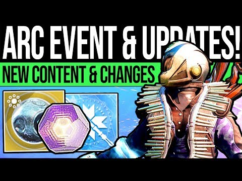 Destiny 2 | ARC WEEK EVENT & LOOT UPDATE! Exotic Quest, New Gear, Vendors & Eververse! (9th April)