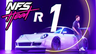 NEED FOR SPEED HEAT GAMEPLAY - Porsche 911 Carrera GTS (Escaping & Banking REP)