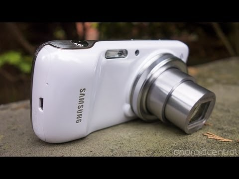 Samsung Galaxy S4 Zoom video walkthrough