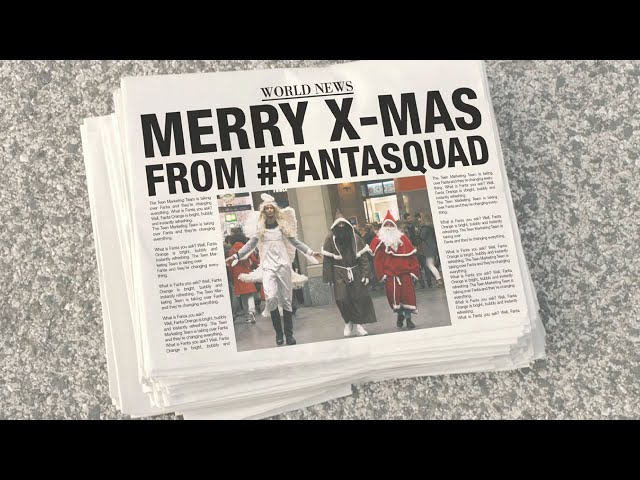 MERRY X-MAS FROM #FANTASQUAD