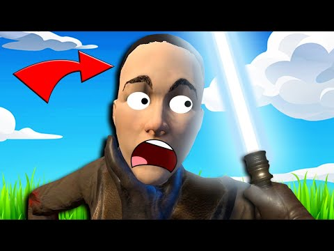 These Lightsabers And Jedi Force Powers Are BRUTAL In Blade & Sorcery VR!