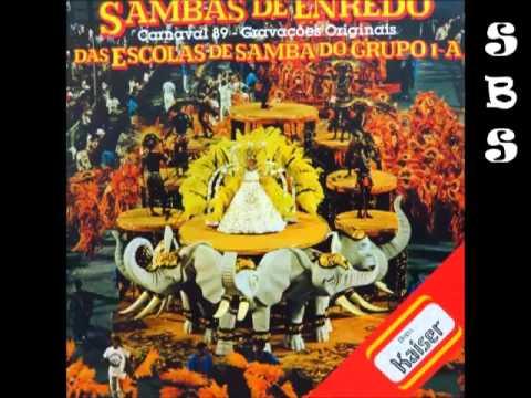 Música 1989 - Rio, Samba e Carnaval