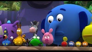 Перекресток в джунглях - Все серии подряд (Сезон 1 Серии 7,8,9) l Мультфильм Disney
