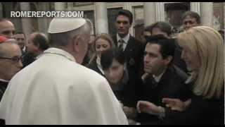 Visita del Papa Francisco a la Basílica de Santa María Mayor