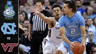 North Carolina vs. Virginia Tech ACC Basketball Tournament Highlights (2020)