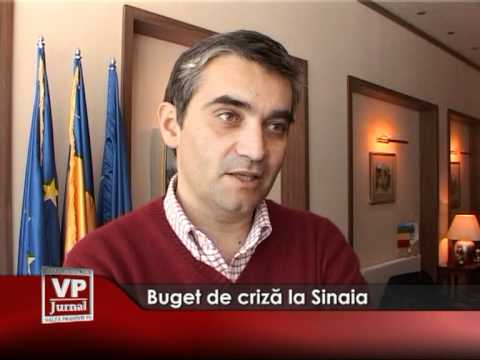 Buget de criză la Sinaia