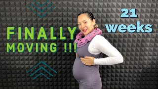 21 weeks pregnant / 5 Months pregnant / when do babies move in the womb / baby movements