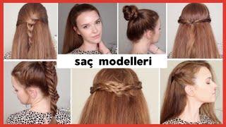 Haftanın 7 Gününe 7 Saç Modeli 👧🏻