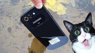 Смартфон DOOGEE S30 Gold от компании Cthp - видео 2