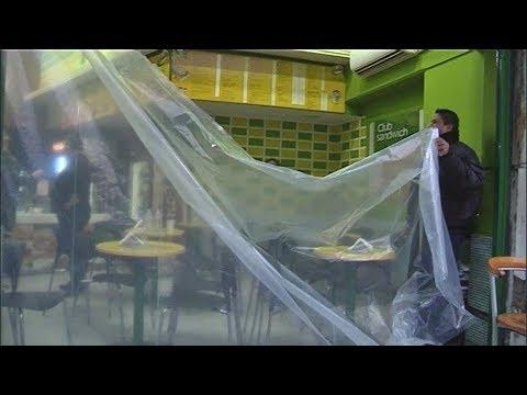 Θεσσαλονίκη: Καταδίωξη τζιπ και εισβολή σε κατάστημα με μπουγάτσες