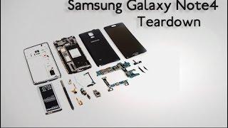 Complete Samsung Galaxy Note 4 Teardown - DIY Repair Manual