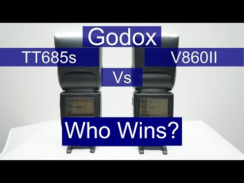 Battery life shootout - A Review of the Godox TT685 vs V860II